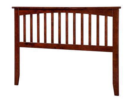 Atlantic Furniture Mission AR287834 Headboard Brown, AR287834 SILO F 180