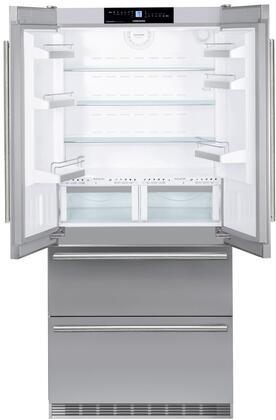 Liebherr  CBS2062 French Door Refrigerator Stainless Steel, CBS2062 Fridge-Freezer with BioFresh and NoFrost