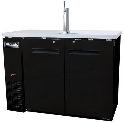 Migali Competitor CDD482HC Commercial Beer Dispenser Black, Main Image