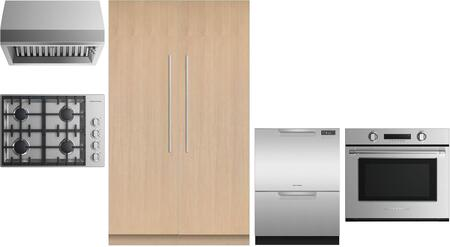 Fisher Paykel  969705 Kitchen Appliance Package Panel Ready, main image