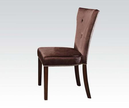 Acme Furniture Kingston 60024 Dining Room Chair Brown, Main Image