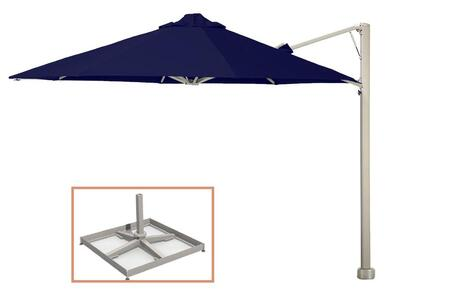Shadowspec SU6 Series KITP6OCT35UNOPBBLUA Outdoor Umbrella Blue, KITP6SQ25UNOPBBLUA