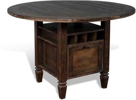 1013TL2 Homestead Counter Height Table  in Tobacco