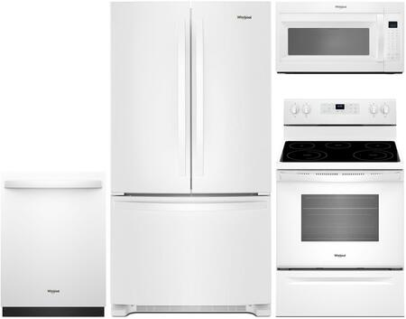 Whirlpool 930582 Kitchen Appliance Package & Bundle White, 1