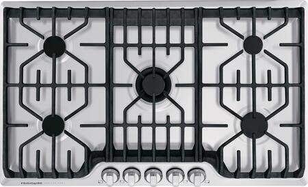 Frigidaire Professional FPGC3677RS Gas Cooktop Stainless Steel, FPGC3677RS SDV 518.