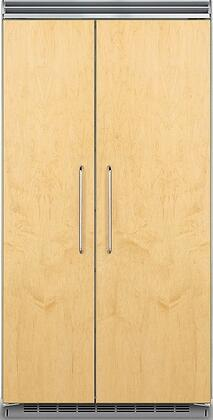 Viking 5 Series FDSB5423 Side-By-Side Refrigerator Panel Ready, Panel Ready Model