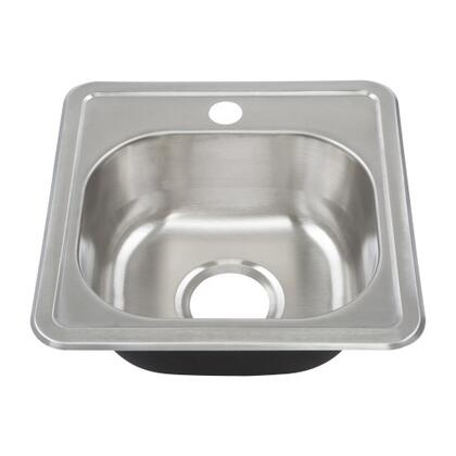 Yosemite YHD Sinks - Stainless Steel MAG1515 Sink, Main Image