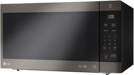 LG  LMC2075BD Countertop Microwave Black Stainless Steel, Main Image