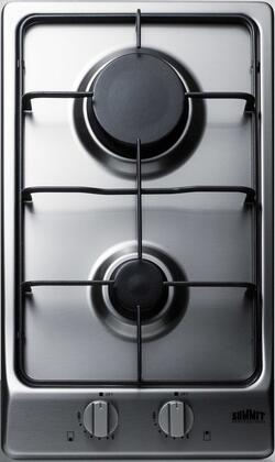Summit  GC22SS Gas Cooktop Stainless Steel, GC22SS Cooktop