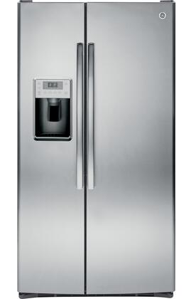 GE Profile  PSS28KSHSS Side-By-Side Refrigerator Stainless Steel, Front