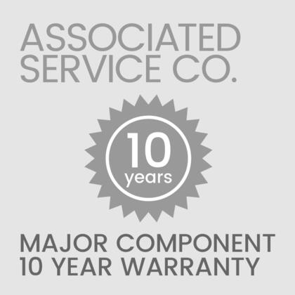 Associated Service Corporation ASA Appliance Warranties, ASA 10 Year Warranty