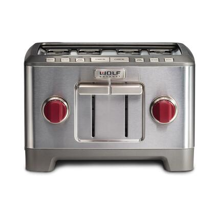 Wolf WGTR104S Toaster Stainless Steel, Main Image