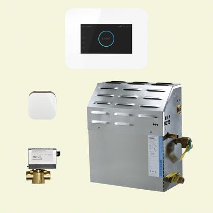 Mr. Steam iSteam Generator Package S1C1AI3WH Shower Accessory, S1C1AI3WH