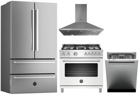 Bertazzoni 1127992 Kitchen Appliance Package & Bundle Stainless Steel, main image