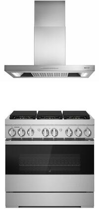Jenn-Air  1169168 Kitchen Appliance Package Stainless Steel, main image