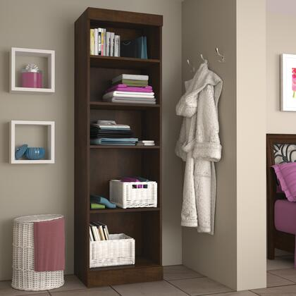 Bestar Furniture Pur Series 2616269 Wardrobe Brown, Image 1