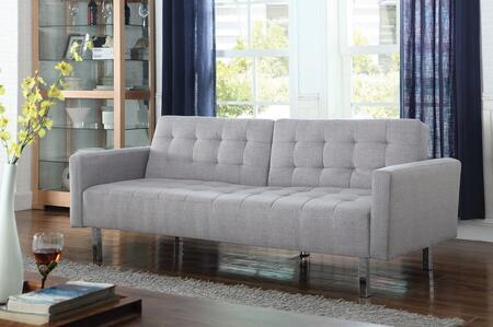 Coaster  505616 Sofa Bed Gray, Main Image