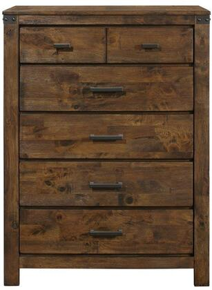 Global Furniture USA Victoria VICTORIACH Chest of Drawer Brown, Main Image