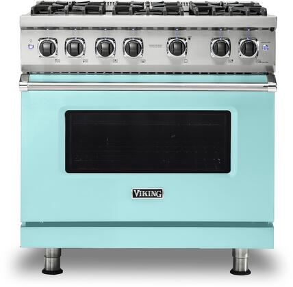 Viking 5 Series VGR5366BBW Freestanding Gas Range Blue, VGR5366BBW Gas Range