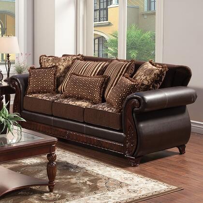 Furniture of America Franklin SM6106NSF Stationary Sofa , Main Image