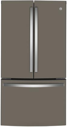 GE  GWE23GMNES French Door Refrigerator Slate, GWE23GMNES French Door Refrigerator