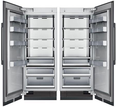 Dacor  869061 Column Refrigerator & Freezer Set Panel Ready, Custom Panels and Handles not Included