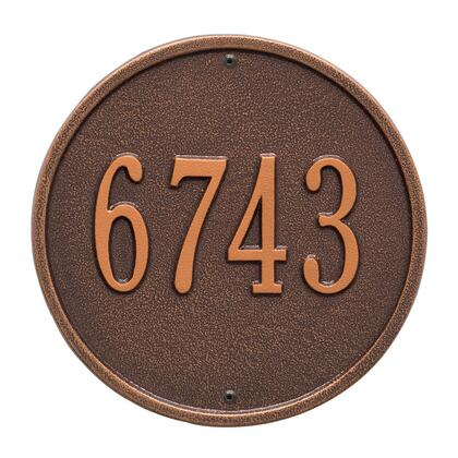Whitehall Products 1033AC Address Plaques, Main Image