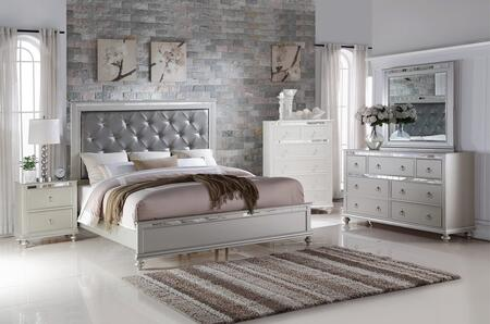Myco Furniture Christopher Collection Cr449fnmdr 4 Piece Bedroom