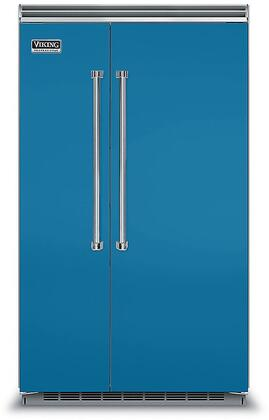 Viking 5 Series VCSB5483AB Side-By-Side Refrigerator Blue, VCSB5483AB Side-by-Side Refrigerator