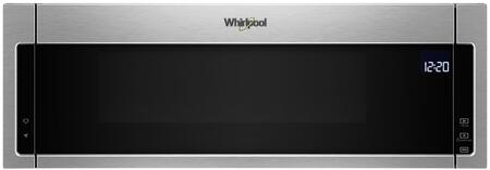 """Whirlpool WML75011HZ 30"""" 1.1 Cu. Ft. Stainless Over-the-Range Microwave Oven"""