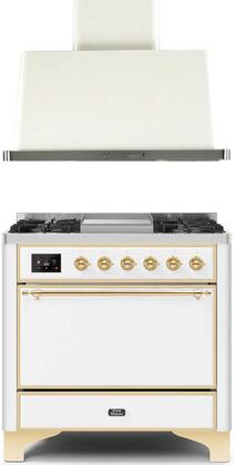 Ilve  1256360 Kitchen Appliance Package White, Main image