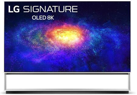 OLED88ZXPUA 88″ 8K Smart OLED TV with AI ThinQ  AI 8K Upscaling and Dolby Vision IQ &
