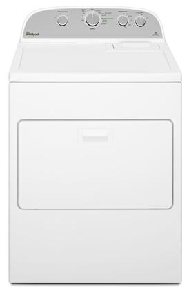 Whirlpool  WGD5000DW Gas Dryer White, Front