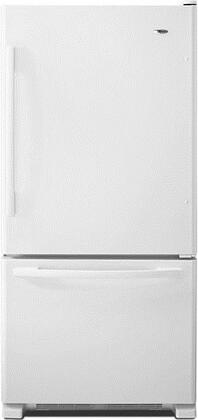Amana  ABB2224BRW Bottom Freezer Refrigerator White, 1