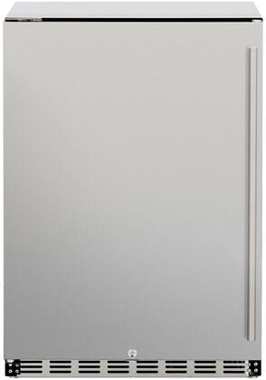 Summerset Grills Deluxe SSRFR24DR Compact Refrigerator Stainless Steel, SSRFR24DR Compact Refrigerator