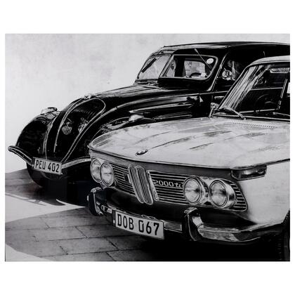 Tempered Glass Series 3120016 Old Buddies 50″ x 40″ Photography Wall Art in