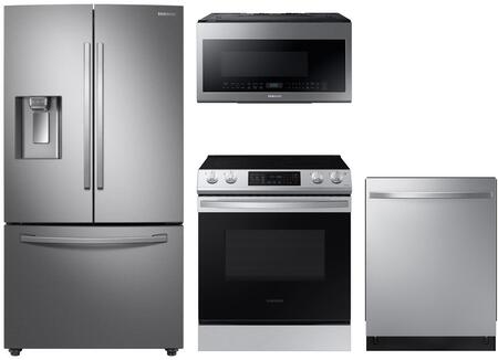 Samsung  1135143 Kitchen Appliance Package Stainless Steel, Main Image