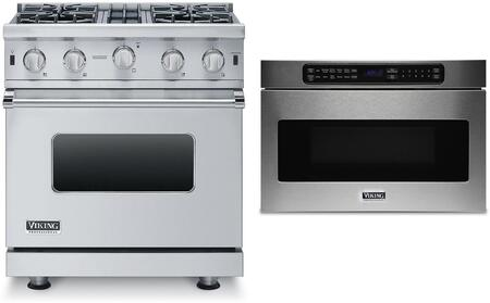 Viking 873948 Kitchen Appliance Package & Bundle Stainless Steel, 1