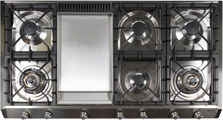 Ilve UHP1265FDI Gas Cooktop Stainless Steel, Main Image
