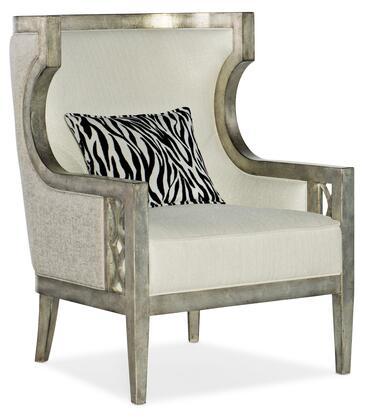 Hooker Furniture Sanctuary 2 58755200595 Living Room Chair Beige, Silo Image