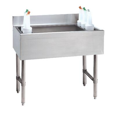 Advance Tabco  CRI12367X Commercial Underbar Sink Stainless Steel, Main Image