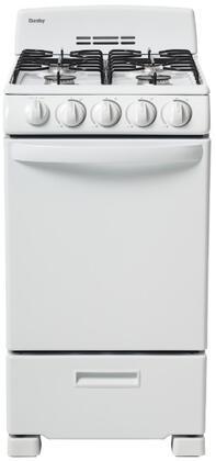 Danby DR202WGLP Freestanding Gas Range White, Main Image
