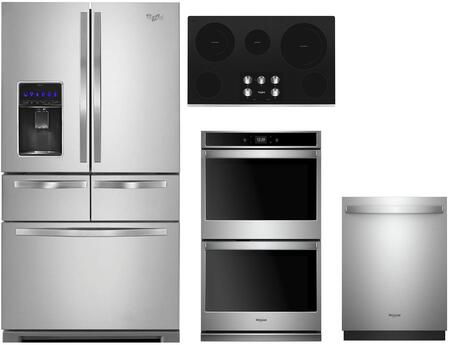 Whirlpool 1054239 Kitchen Appliance Package & Bundle Stainless Steel, Main image