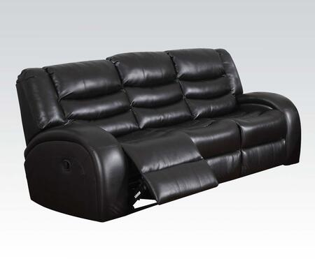 Acme Furniture Dacey 50740 Motion Sofa Black, Sofa