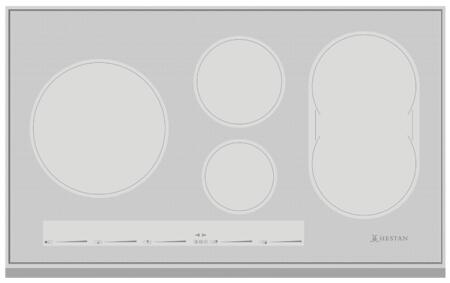 Hestan  KIC36MS Induction Cooktop Silver, 1