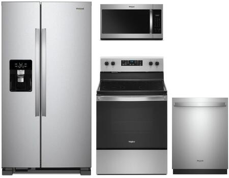 Whirlpool 1125648 Kitchen Appliance Package & Bundle Stainless Steel, main image