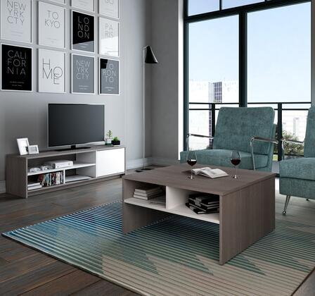 Bestar Furniture 1685147 Living Room Set, 16851 47