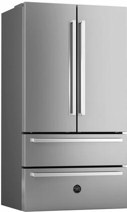 Bertazzoni Professional REF36X French Door Refrigerator , Main Image, Shown with Professional Series Handle