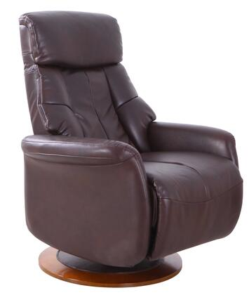 Orleans Collection ORLEANS710514 Recliner with 360 Degree Swivel  Adjustable Recline  Memory Foam Seating  All Steel Construction and Durable