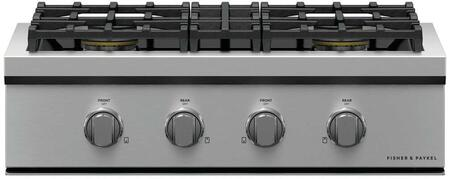 Fisher Paykel Professional CPV3304L Gas Cooktop Stainless Steel, CPV3304 Professional Rangetop